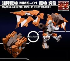 MATRIX MONSTER HUNTER STYLE MMS-01 FIERY DRAGON Action Figure NEW Transform Toy