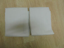 ~USED~ (6) Double Flat Ex-Long White Sheets 65% Poly 35% Cotton 81x108