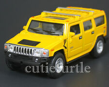 Kinsmart 2008 Hummer H2 SUV 1:40 Diecast Toy Car Yellow