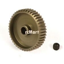 Yeah Racing Aluminum 7075 Hard Coated Motor Gear Pinion 64P 45T RC Car #MG-64045