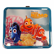 Loungefly Disney Finding Nemo Group Metal Lunch Box NEW Loungefly Carrier Tote