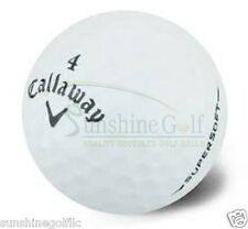 100 Mint Callaway Supersoft Used Golf Balls (5A)  **FREE SHIPPING**