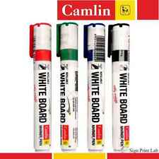 4 X Camlin - White Board Marker Refillable Pens in Colours Red,Black,Blue,Green