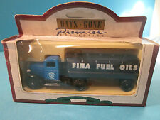 Lledo Days Gone Premier Collection 1935 Ford Tanker Truck Fina Petrol Livery