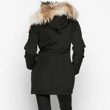 "BRAND NEW ""RED LABEL"" 100% LADIES BLACK CANADA GOOSE VICTORIA ""XS"" PARKA JACKET"