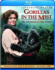 GORILLAS IN THE MIST New Sealed Blu-ray Sigourney Weaver