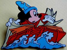 Disney Land Pin * Sorcerer Mickey With Book