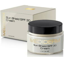 MediDerm Sun Shield SPF 30 Sunscreen Anti-Aging Moisturizer Cream For Face/ Body