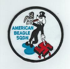 "2nd  FIGHTER SQ ""AMERICAN BEAGLE SQ"" #1 MORALE patch"