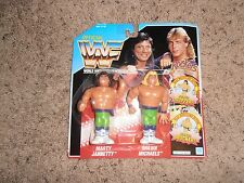 THE ROCKERS SHAWN MICHAELS wwf HASBRO wrestling FIGURE moc BLUE CARD TAG TEAM