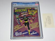 Detective Comics #359  CGC 9.2 WHITE Pages Key-1st  Batgirl Silver Age (1967)