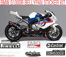 S1000RR Motorrad Bellypan Sponsor Decal Stickers - Superbike