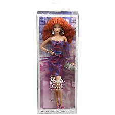 Barbie The Look City Shine Redhead Doll Collector Black Label  NEW!