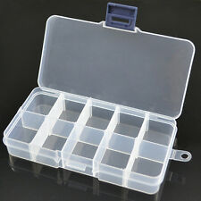 10 Slots Storage Box Case For Jewelry Rubber Bands Perler/HAMA Beads Loom Tools
