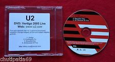 U2 Vertigo Live from Chicago UK Near Mint CD with Promo Sticker