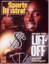 Notre Dame Rocket Ismail Sports Illustrated 1991 No Label Lift Off Raghib Ismail