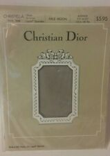 Christian Dior Vintage Christella Pantyhose Pale Moon Size Average Sheer Support