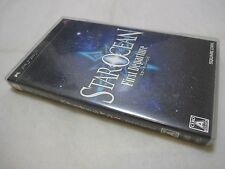 Used PSP Star Ocean The First Departure. Play Station Portable Japanese Version.