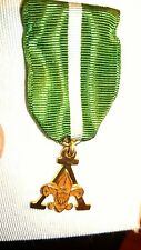 Boy Scout Medal Scouter's Award 5102 still in presentation case 10K Plated