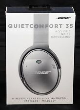 Authentic Bose QuietComfort 35 QC35 Noise Cancelling Wireless Headphones- Silver