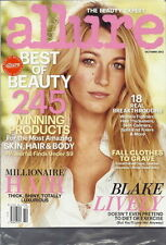 Blake Lively Allure Magazine Oct 2012 Best of Beauty 245 Products SEALED