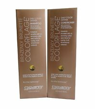 GIOVANNI BRAZENLY BRUNETTE DAILY COLOUR DEFENCE SHAMPOO AND CONDITIONER BUNDLE