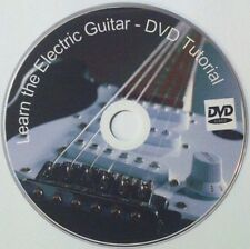 Learn to play Electric Guitar - Instruction DVD Video Lessons FREE P&P