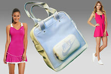 NIKE Ladies Womens Court TOTE GYM SPORTS SHOULDER BAG Light Blue AUTHENTIC
