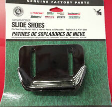 MTD Genuine OEM-784-5580 Skid Shoes set of 2 for 2 stage snow blowers 1992+