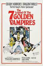 THE LEGEND OF THE 7 GOLDEN VAMPIRES Movie POSTER 27x40 Alice Joyce Harry T.
