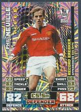 TOPPS MATCH ATTAX 2014-15-RECORD BREAKERS- #439-MANCHESTER UTD-PHIL NEVILLE-FOIL