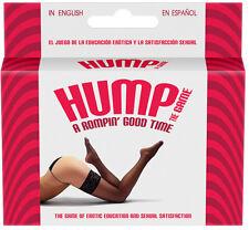 Hump! CARD Game EROTICO adulti solo Naughty maleducato romantico regalo divertente sesso aiuto alla