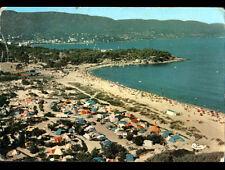 BORMES-LES-MIMOSAS / LA FAVIERE (83) CAMPING ,POINTE du GOURON vue aérienne 1962