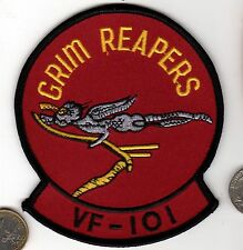 US Navy Marine Corps VF-101 GRIM REAPERS Squadron Air Death Patch USMC Naval