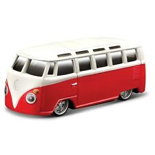 VW SAMBA CAMPER VAN 1:64 metal model car red diecast die cast models miniature