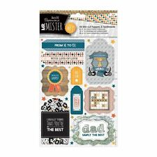 DOCRAFTS PAPERMANIA MR MISTER FUSTELLA TOPPER E SENTIMENTI PER CARTE &