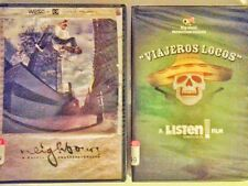 Viajeros Locos & Neighbours Nordic Skateboarding Video DVD New & Factory Sealed