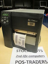 Zebra Z6M Plus Z6M00-200E-0020 Thermal Barcode Label Printer RJ45 Network Serial