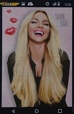 SHIRIN DAVID - A3 Poster (ca 42 x 28 cm) - YouTube Clippings Fan Sammlung NEU