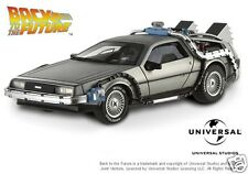 X5493 Hot Wheels Elite 1:43 Volver Al Futuro Time Machine Delorean Dmc-12 Nuevo