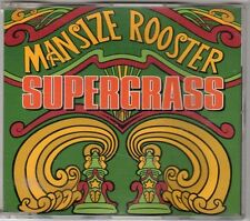 (EX490) Mansize Rooster, Supergrass - 1995 DJ CD