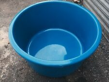Fibre glass fish ponds ebay for Blue koi pond liner