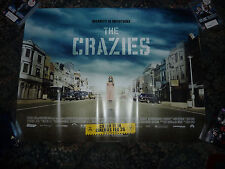 THE CRAZIES ORIGINAL CINEMA 2010 QUAD POSTER TIMOTHY OLYPHANT RADHA MITCHELL