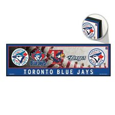 "TORONTO BLUE JAYS RETRO LOGO'S COOPERSTOWN COLLECTION WOOD SIGN 9""x30"" WINCRAFT"