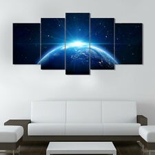 5P/Set Abstract HD Canvas Prints wall art painting Poster Star Universe Unframed