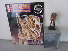 KRAVEN - SUPER HEROES MARVEL LA COLLECTION OFFICIELLE N°23 - FIGURINE EN PLOMB