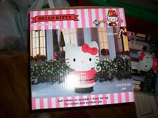 HELLO KITTY Airblown Inflatable 5.5 ft. Tall Lighted By Gemmy