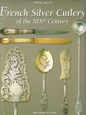 French Silver Cutlery of the 19th century book in English