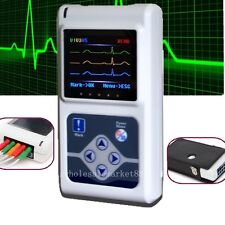 3-channel ECG EKG Holter System/Recorder patient Monitor ​Analyzer Software NEW1