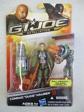 MOC 2011 HASBRO GI JOE RETALIATION CONRAD DUKE HAUSER ACTION FIGURE